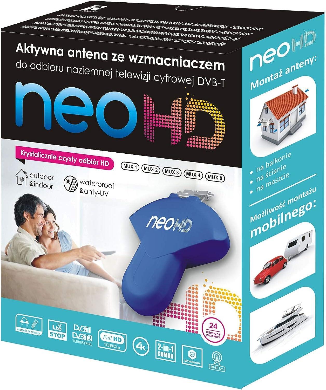 Antena TDT Neo HD 35dB para Caravanas y Embarcaciones: Amazon ...