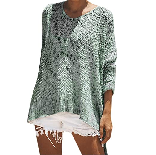 Womens Sweaters Clearance Sale Womens Winter Boho Warm O Neck Long