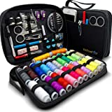 Sewing KIT Premium Repair Set - Sewing Kits for Adults with Over 100 Supplies & 24-Color Threads - a Needle & Thread Kit for