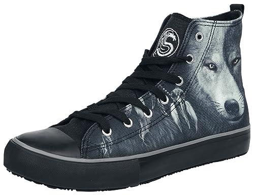 Spiral Wolf Chi Zapatillas Negro EU44 QcLc8euN