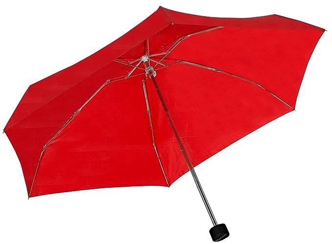 Kompakt Handlich Baciami Mini Regenschirm Damen /& Herren und Kinder Kleiner Taschenschirm ⌀ 87cm Leicht Blau