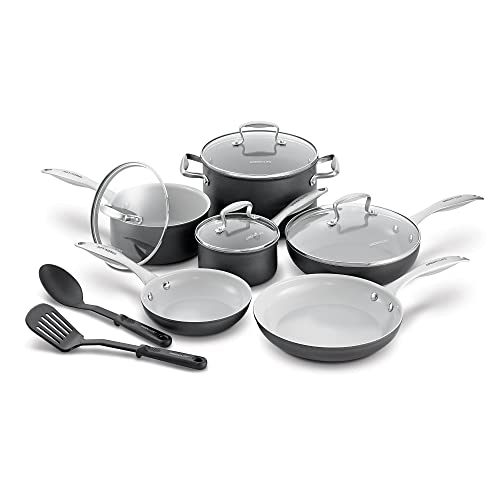 GreenLife CC000801-001 Classic Pro Hard Anodized Healthy Cookware Set