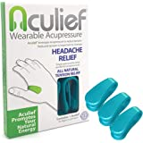 Aculief - Award Winning Natural Headache, Migraine, Tension Relief Wearable – Supporting Acupressure Relaxation, Stress…