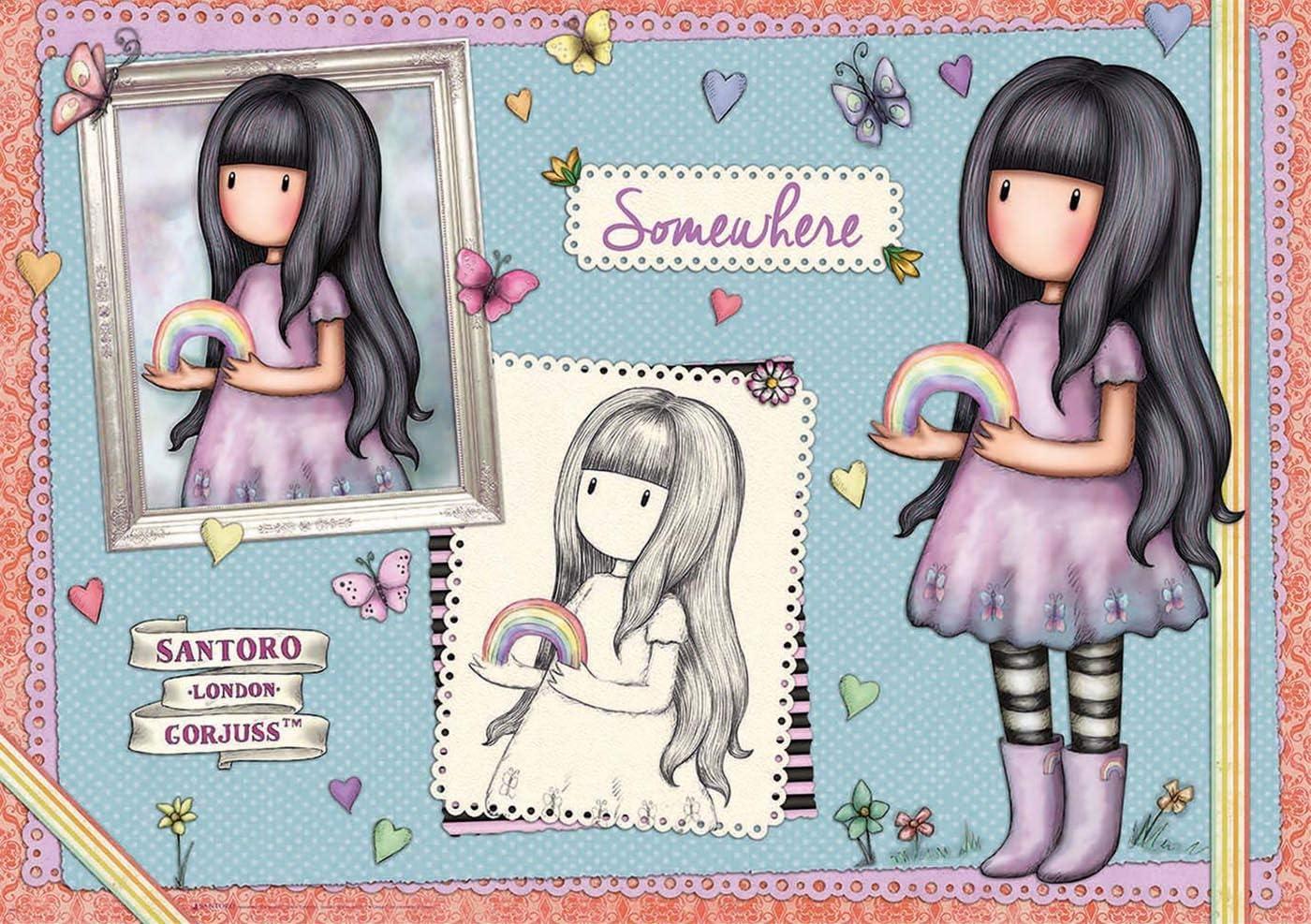 Educa Borras - Serie Santoro Gorjuss, Puzzle 1.000 piezas Somewhere: Amazon.es: Juguetes y juegos