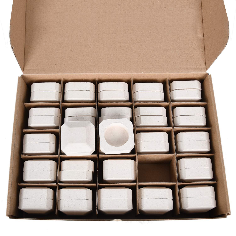 GasSaf Ceramic Briquettes Replacement for Lynx L27, L30, CS30 Gas Grill, Set of 48+2 briquettes by GasSaf