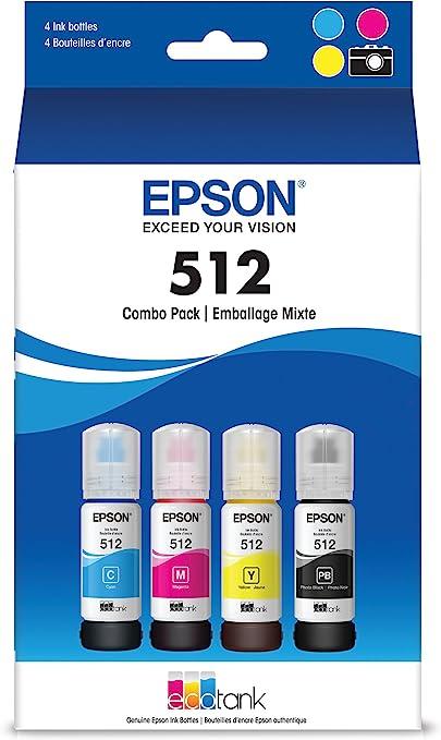 Amazon.com: Epson ET-7700, ET-7750 EcoTank - Botella de ...