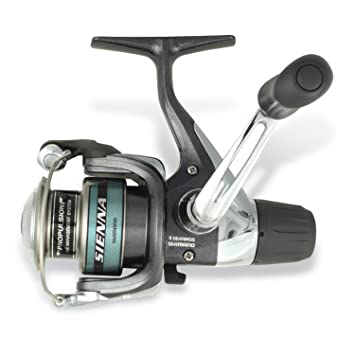 Shimano Sienna 5.2:1 6 Pounds/110 RD Spin Reel (Ultra Light