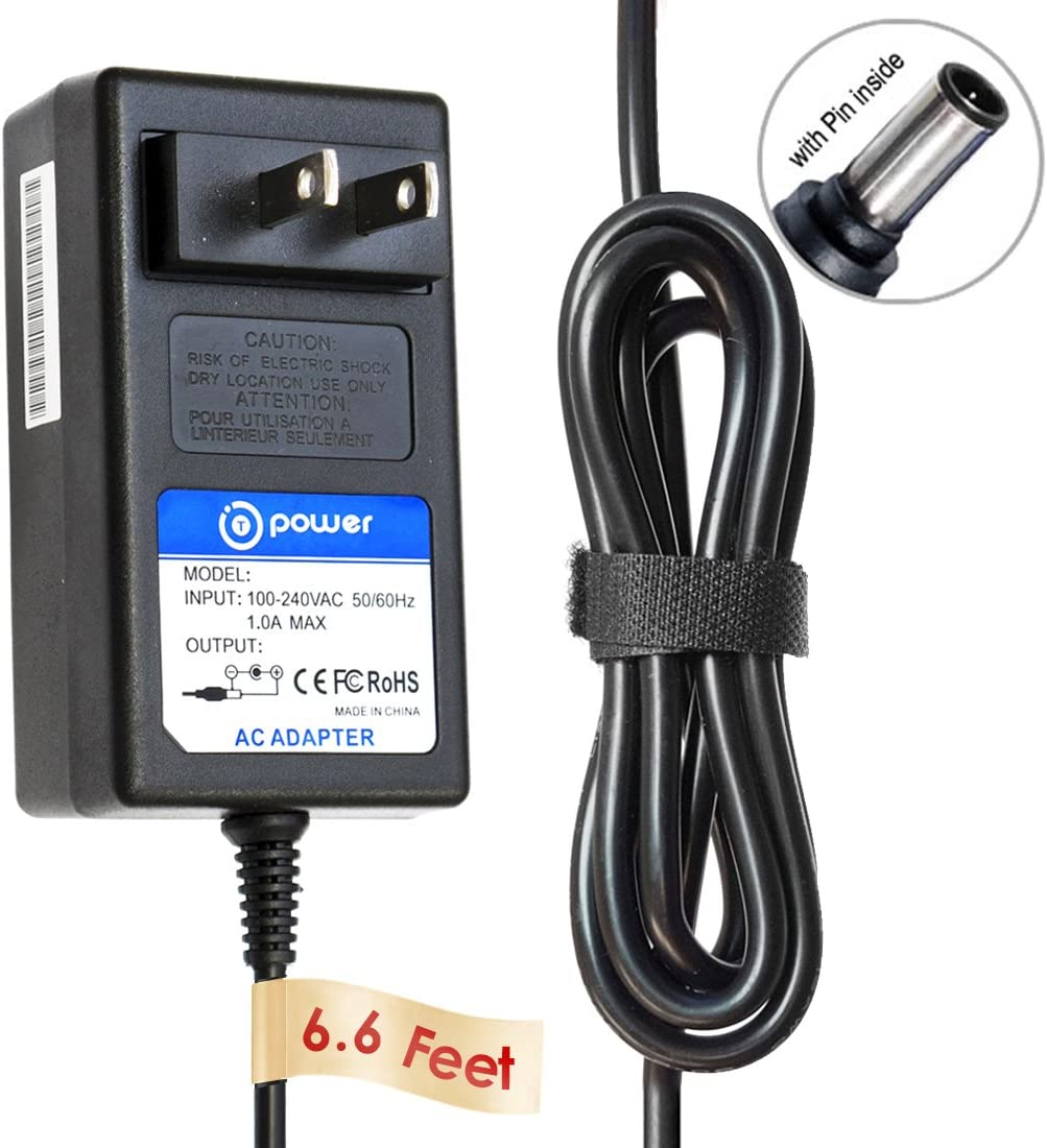 T POWER Ac Adapter Charger Compatible with Sony SRS-XB3 SRS-X55 SRS-BTX500 Portable Bluetooth Speaker Portable NFC Bluetooth Wireless Wi-Fi Personal Audio Speaker System (Sony AC-E1530) Power Supply