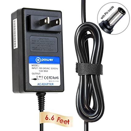 amazon com t power 12v 6 6 feet ac adapter charger compatible rh amazon com