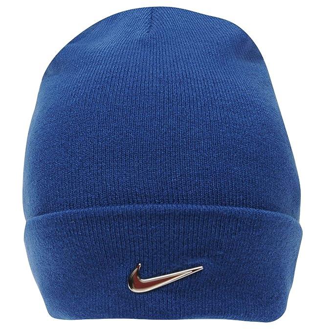 Berretto da Beanie Nike Junior Winter Season in metallo con logo blu adatto  per bambini dai b26c0d7e468e