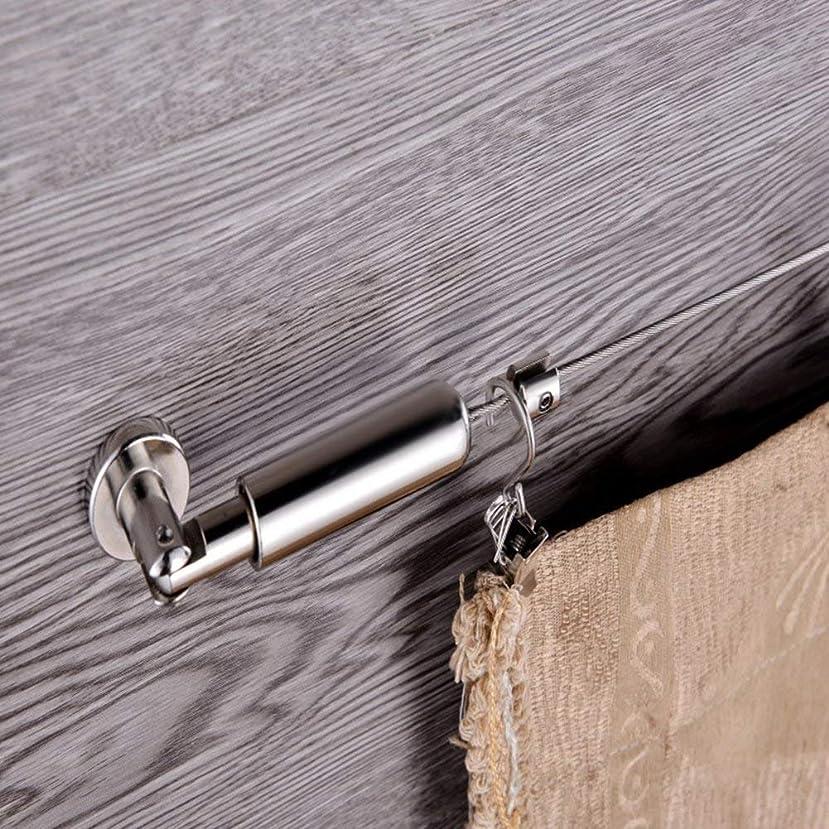 そこから高尚な水陸両用70~410cmブラックアップグレード版ステンレ突ぱり強力ステンレスポール 突っ張り棒 つっぱり棒 強力太タイプ室内物干し 浴室用ステンレ用品 お風呂 カーテンロッドタイプのつっぱり棒 強い耐荷重 直径:32mm 耐荷重10-40kg サイズ 70~410cm
