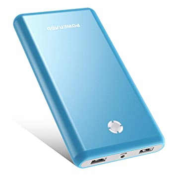 POWERADD [Versión Mejorada] Pilot X7 20000mAh Power Bank Cargador Móvil Portátil Batería Externa con 2 Salidas USB 3.1A para iPhone iPad Samsung ...