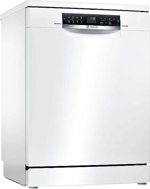 Bosch Serie 6 SMS68MW05E lavavajilla Independiente 14 cubiertos A ...