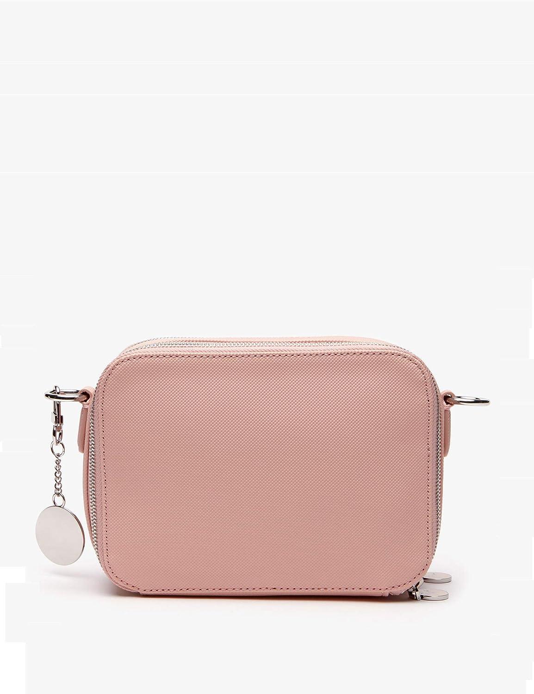 nf2772dc Lacoste Petit sac bandouli/ère femme 2 compartiments Daily Classic taille 15 cm
