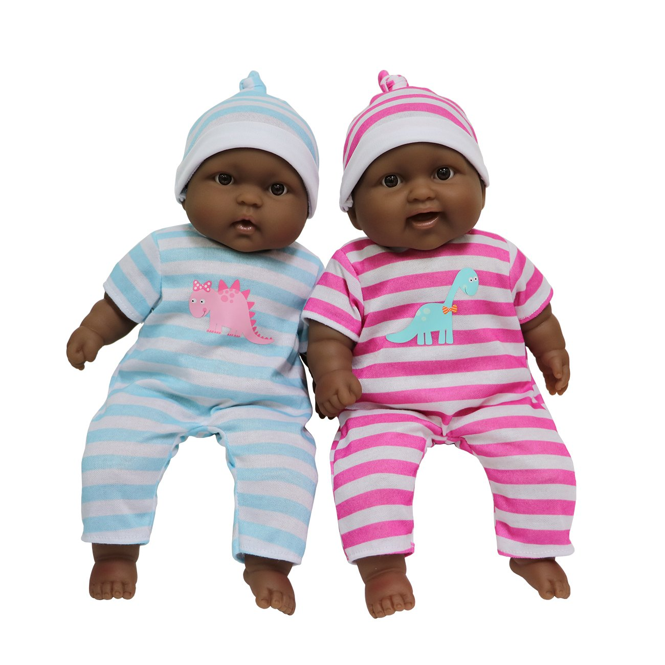 Amazon com jc toys lots to cuddle babies twin dolls toys games