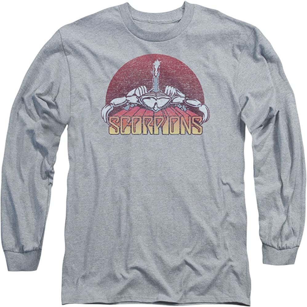Scorpions Rock Band COLOR LOGO DISTRESSED Licensed Adult T-Shirt All Sizes