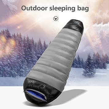 JIBO Saco De Dormir Al Aire Libre Adulto Ultra Ligero Acampar Caliente Acolchado Bolsa De Dormir