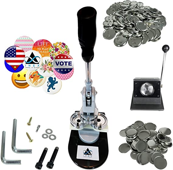 Máquina para hacer insignias de 58 mm, máquina perforadora de ...