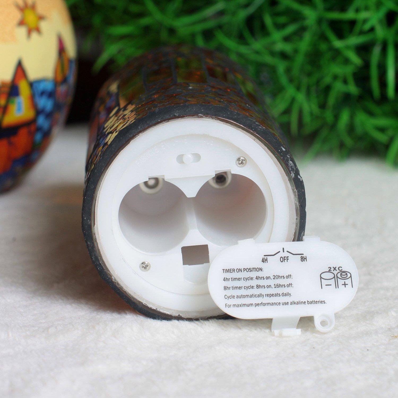 71-X5a63qVL._SL1500_ Schöne Kerze Leuchtet In Verschiedenen Farben Dekorationen