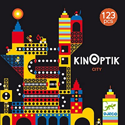 DJECO Kinoptik City Construction Design Toy: Toys & Games