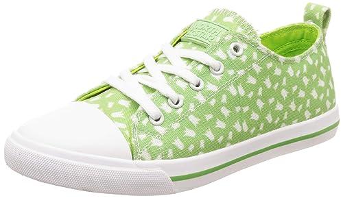 North Star Women's CLOE Green Sneakers