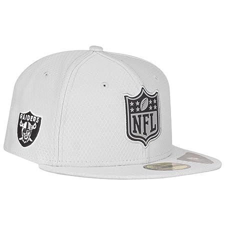 New Era Oakland Raiders League Logo 59FIFTY Fitted NFL Cap  Amazon ... 0f85ecab3