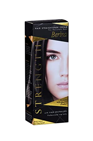 Berina Hair Straightener Cream plus Neutralizer   110gm