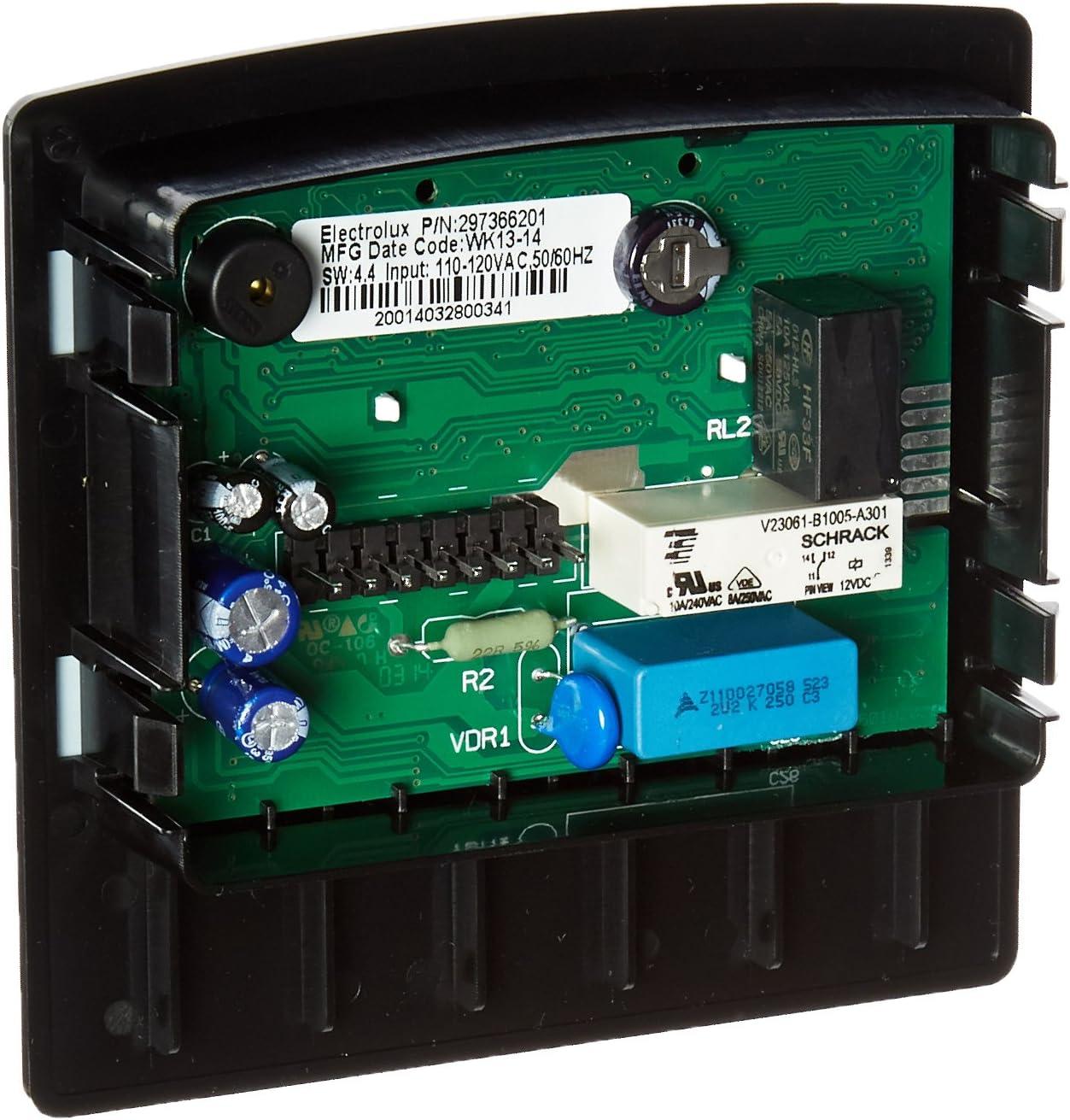 297366204 Freezer Electronic Control Assembly Genuine Original Equipment Manufacturer Part Black OEM