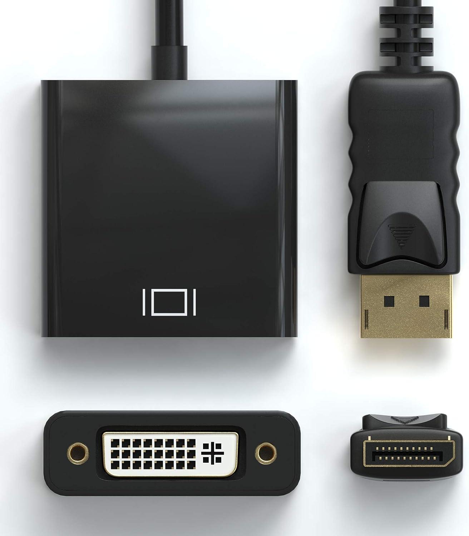 HDMI Winkel Adapter 2er Pack JAMEGA Konverter 1080p Full HD 4K Ultra HD Vergoldete Stecker Links 90/° Grad Winkel Flach von HDMI A Buchse zu HDMI A Stecker 19pol