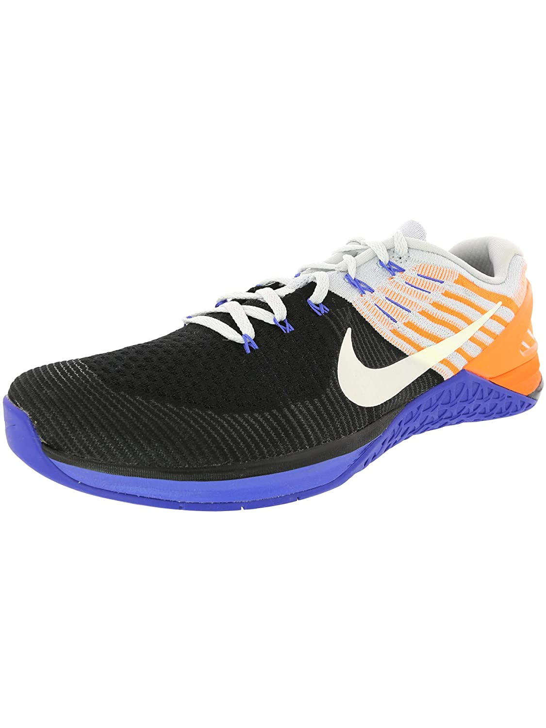 [ナイキ] Men's Metcon Dsx Flyknit Ankle-High Fabric Cross Trainer Shoe 12 M US Platinum/White B073N6RZ5W