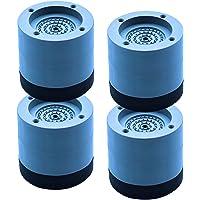 Fenteer 4 Adet Çamaşır Makinesi Lastik Ayak Pedleri, Titreşim Önleyici ve Ayak Önleyici Kauçuk Mat, Çamaşır Makinesi…