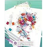 Prima Marketing 655350591052 Prima Princesses Coloring Book