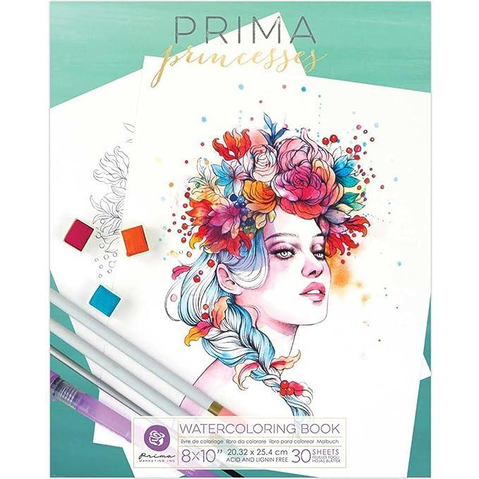 Prima Marketing Prima Princesses Coloring Book: Amazon.ca: Home ...