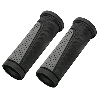 2Pcs//set Rubber Bicycle Grip Cycling Mountain Bicycle Scooter Handle Bar Grip HI