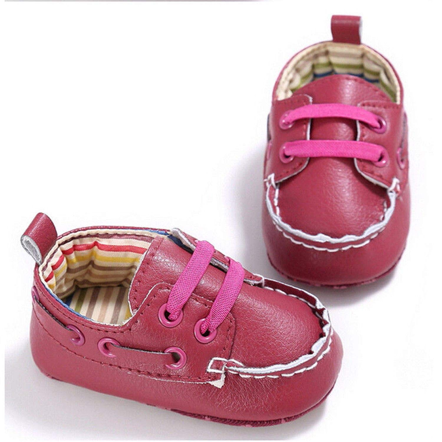 Baby Newborn Toddler Infant Shoes Boy Girl Soft Sole Crib Shoes