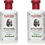 Thayers Facial Toner, Original Witch Hazel McrqrC, 12 Fluid Ounce, (Packaging may vary) (Pack of 2)