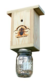 Premium USA Made Carpenter Bee Trap With Hole Plugs