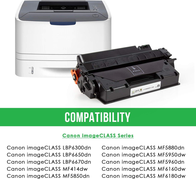 6 PK Black 119II 3480B001AA Toner for Canon Imageclass MF5950 LBP6670 MF414dw