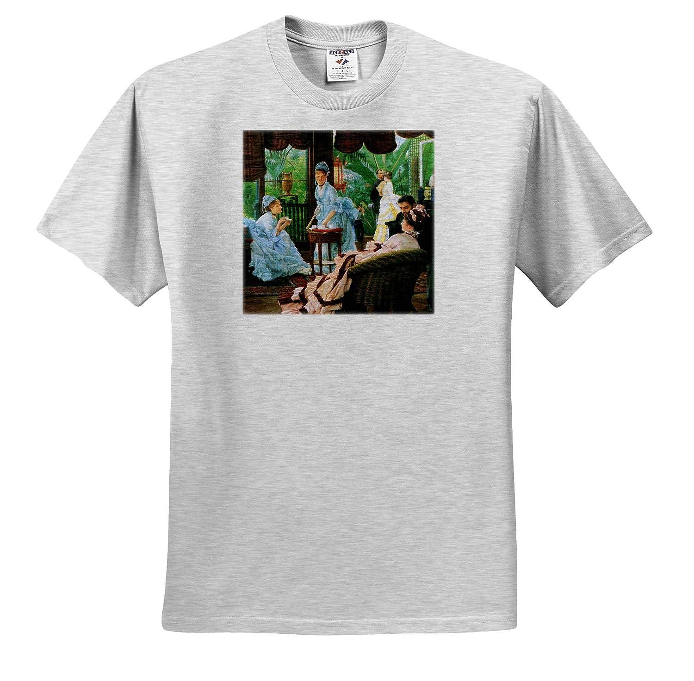 Tissot Masterpieces T-Shirts Rivals 3dRose VintageChest