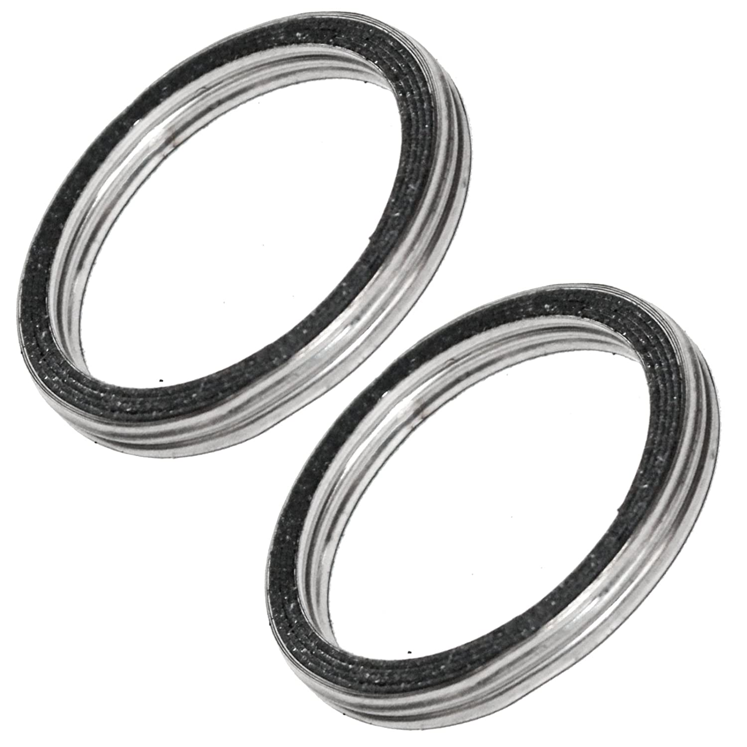 Amazon com: CALTRIC 2 Exhaust Muffler Pipe Gaskets Fits
