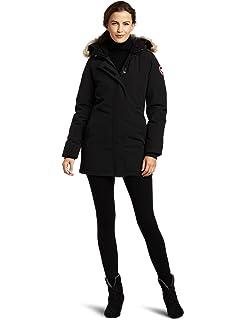 Amazon.com  Canada Goose Women s Kensington Parka Coat  Sports ... 9e52effaaf