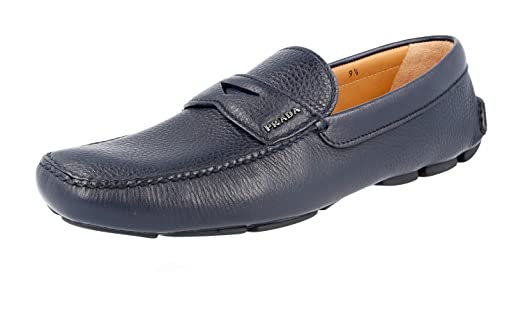 Men's 2DD001 T6O F0216 Leather Loafers