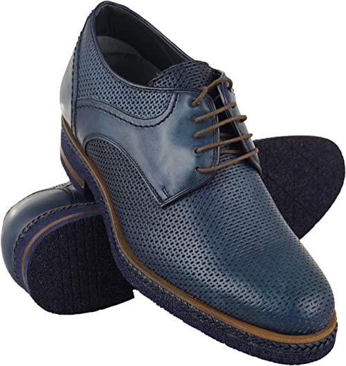 Zerimar Zapatos con Alzas Hombre | Zapatos de Hombre con Alzas Que Aumentan su Altura + 7 cm | Zapatos con Alzas para Hombres | Zapatos Hombre Vestir | Fabricados en España: Amazon.es: Zapatos y complementos