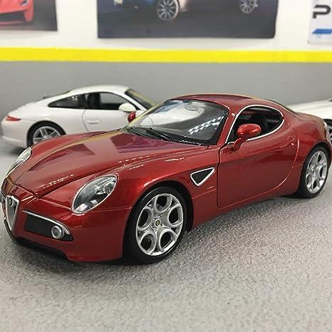 Alfa Romeo Models >> Amazon Com Alfa Romeo 8c Competizione Red 0 Model Car