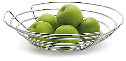16 opinioni per Blomus WIRES- serving baskets (Round, Stainless steel, Stainless steel, Flöz