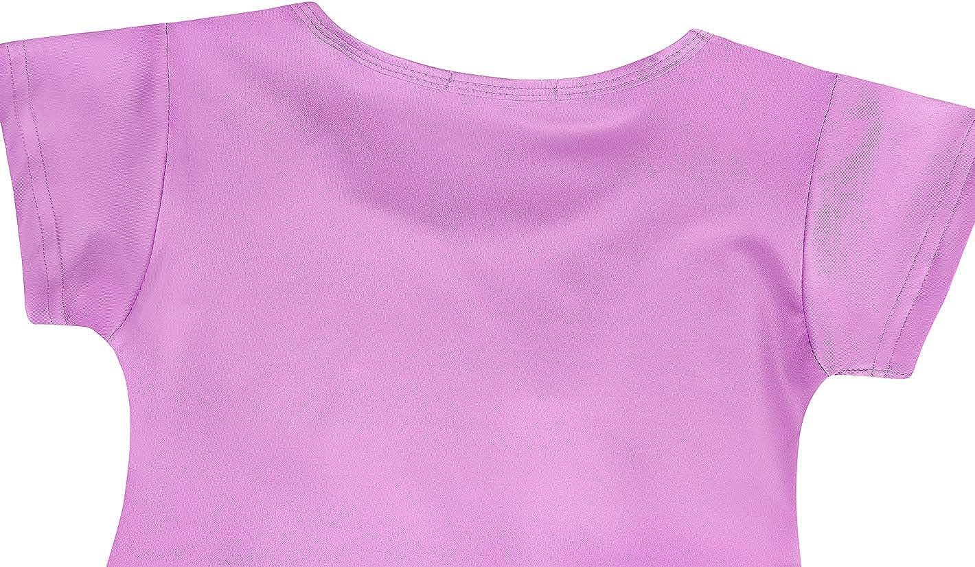 WonderBabe Camicie da Notte per Ragazze Camicie da Notte per Unicorno a Maniche Corte//Manica Lunga Pigiama per Bambini Abito da Notte