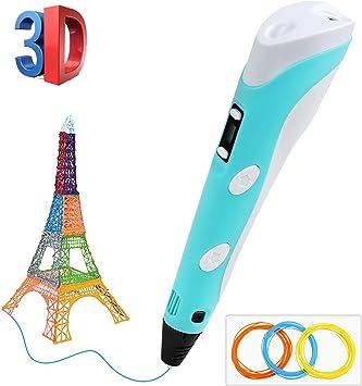 Plumas para impresión 3D, BelleStyle 3D Pluma Inteligente Pen ...