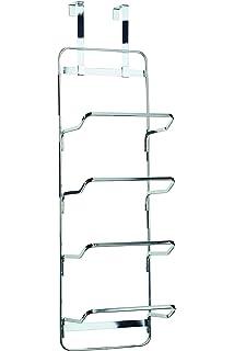 Croydex Chrome Hook Over Rust Free Multiple Towel Rack