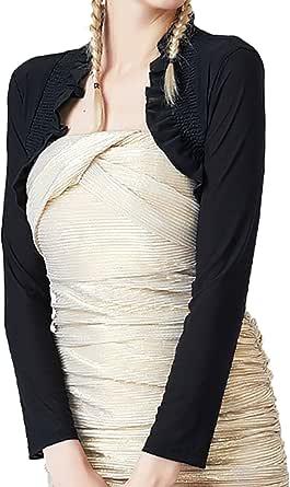 Alivila.Y Fashion Womens Mesh Shrug Bolero Cardigan Evening Shrugs