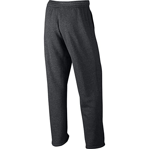 d37b2a799ae553 Jordan Flight Fleece Men s Open Hem Pants Grey Heather White 823073-071  (Size 4X) at Amazon Men s Clothing store